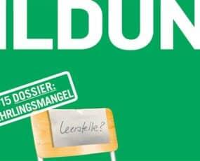 In der Schweiz herrscht Lehrlingsmangel